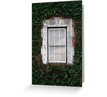 The Ivy Window Greeting Card