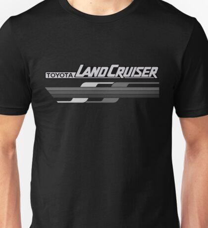 Land Cruiser FJ body graphics series, gray Unisex T-Shirt