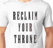 Reclaim Your Throne - Night Unisex T-Shirt