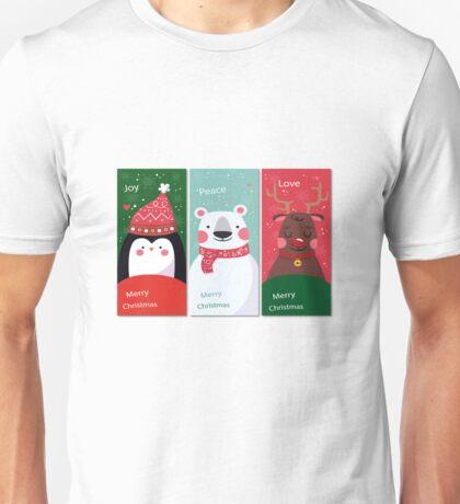 Christmas  Joy Peace Love Unisex T-Shirt