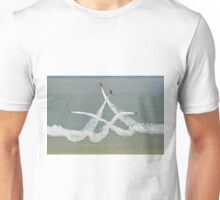 The Red Arrows - Opposition Barrel Roll - Eastbourne 2014 Unisex T-Shirt
