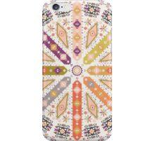 Ornamental round geometric native style pattern iPhone Case/Skin