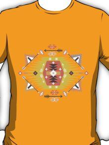 Ornamental round geometric native style pattern T-Shirt
