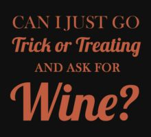 trick or treating wine by Glamfoxx