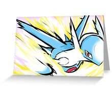 Latios | Luster Purge Greeting Card