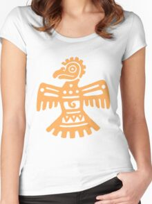 Aztec Eagle Women's Fitted Scoop T-Shirt