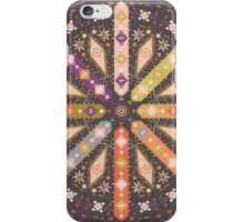 Vector colorful decorative element on native ethnic style iPhone Case/Skin