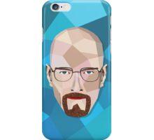 HeisenBerg (Blue Background) iPhone Case/Skin