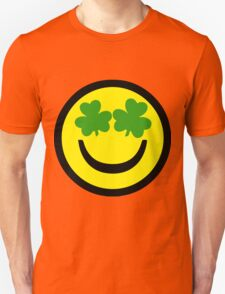 Smiley, Face, Shamrock T-Shirt