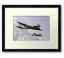 D Day Escort - Dunsfold 2014 Framed Print
