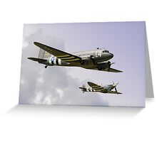 D Day Escort - Dunsfold 2014 Greeting Card