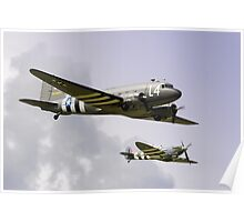 D Day Escort - Dunsfold 2014 Poster