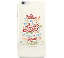 Sliver of Love iPhone Case/Skin