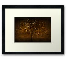 Golden times Framed Print