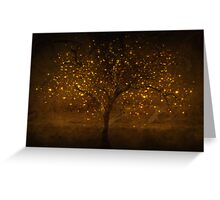Golden times Greeting Card
