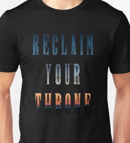 Reclaim Your Throne - Daybreak/black Unisex T-Shirt