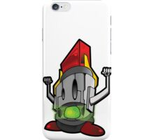 lucha robot iPhone Case/Skin