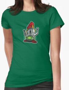 lucha robot Womens Fitted T-Shirt