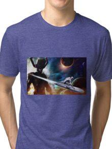 Sliver Surfer Tri-blend T-Shirt