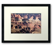 It is not the mountains we conquer but ourselves Framed Print