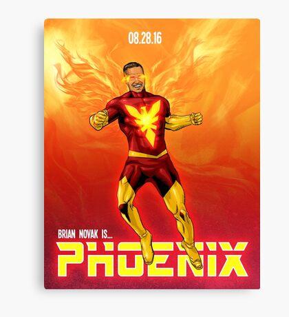 Brian Novak is Phoenix! Canvas Print
