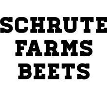 Dwight Schrute - The Office - Schrute Farms Beets by punygod
