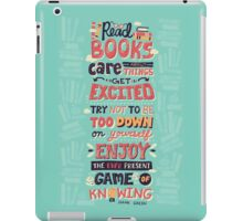 Read Books iPad Case/Skin