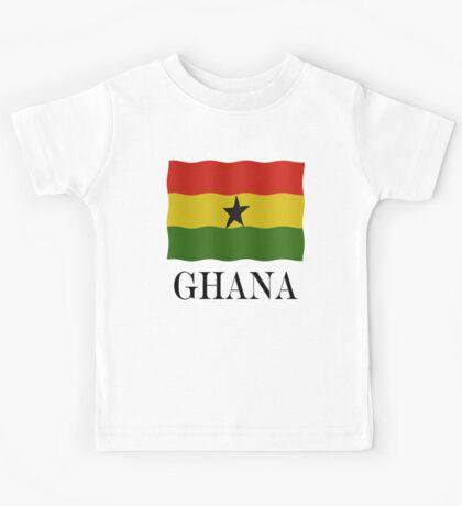 Ghana flag Kids Tee