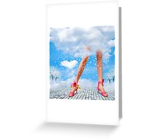 Blond Greeting Card