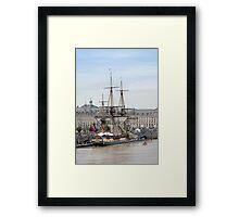 French Fregate Hermione replica Framed Print