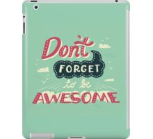 DFTBA iPad Case/Skin
