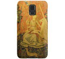 Lady and the unicorn Samsung Galaxy Case/Skin