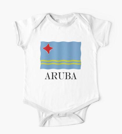 Aruba flag One Piece - Short Sleeve
