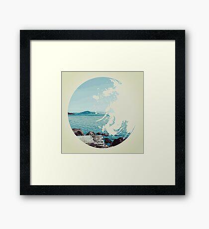 Ocean & Earth Framed Print