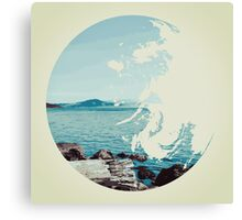 Ocean & Earth Canvas Print