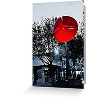 Nucleus by Phil Price Greeting Card