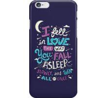 Fell in Love iPhone Case/Skin
