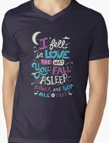 Fell in Love Mens V-Neck T-Shirt