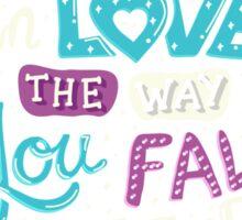 Fell in Love Sticker