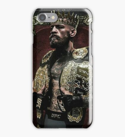 Conor mcgregor the king of UFC iPhone Case/Skin