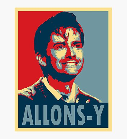 ALLONS-Y Photographic Print