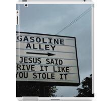 Jesus says... iPad Case/Skin