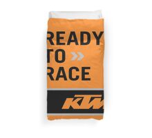 ready to race Duvet Cover