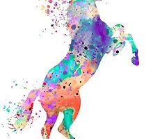 Horse 5 by Watercolorsart