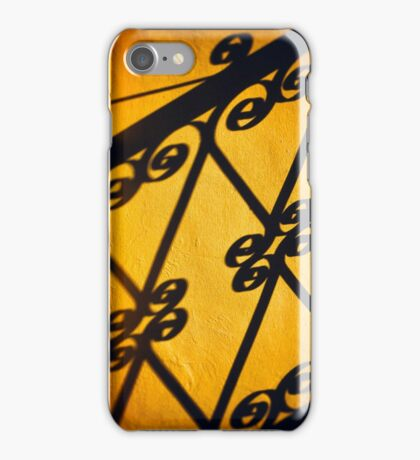 Gutter and ornate shadows iPhone Case/Skin