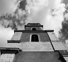 Beneath the bell tower by MrAnthonyPrice