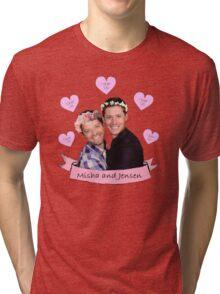 Misha and Jensen Tri-blend T-Shirt