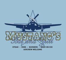 Mustang's Bar and Grill One Piece - Short Sleeve