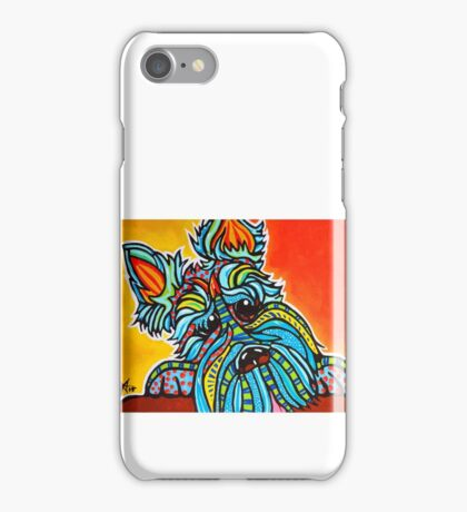 What You Doing? Terrier Dog Design Puppy Airedale Lakeland Norfolk Norwich Kerry Blue Scotty Scottish Wheaten Welsh Schnauzer iPhone Case/Skin