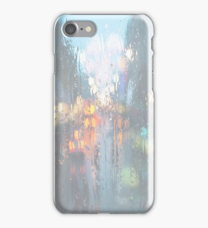 Rainfall with Lights (Tumblr) iPhone Case/Skin